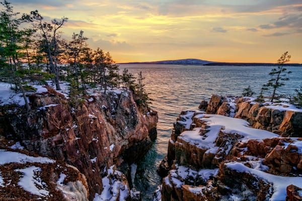 Winter Sunset at Raven's Nest II | Shop Photography by Rick Berk