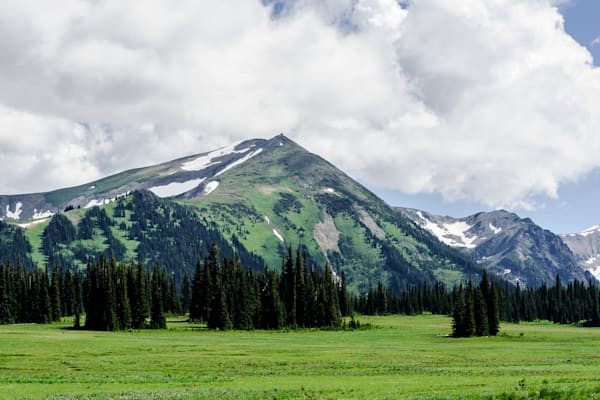 Mount Fremont from Grand Park, Mount Rainier National Park, Washington, 2016