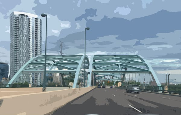 Denver Speer Skyline Art | IN the Moment Creative