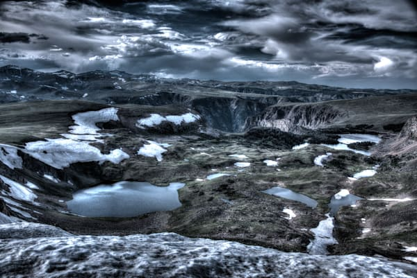 Craters Of My Mind Photography Art   Monty Orr Photography