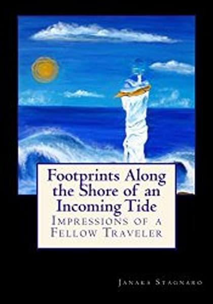 Footprints Along The Shore Of An Incoming Tide | janakastagnaro