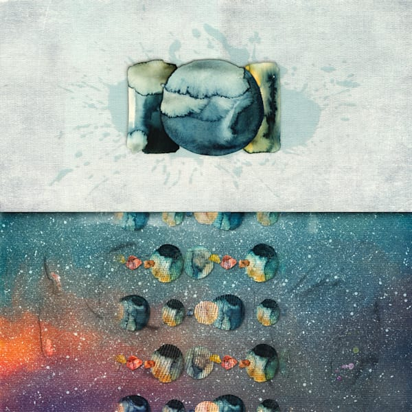 It All Began With A Mind Splat Art | Karen Hutton Fine Art