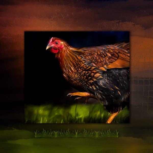 Marche Du Poulet Art | Karen Hutton Fine Art