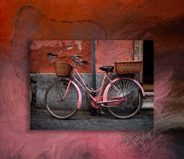 Bike In Abstractia Art | Karen Hutton Fine Art