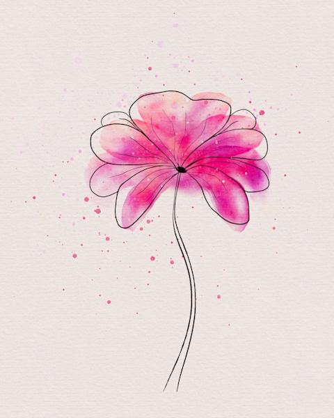 Pink Orlando Art | Karen Hutton Fine Art
