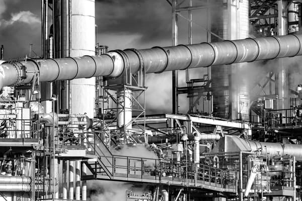 Industrial Landscape #1 Photography Art | Elizabeth Stanton Photography