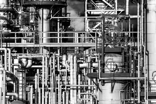 Industrial Landscape #3 Photography Art | Elizabeth Stanton Photography