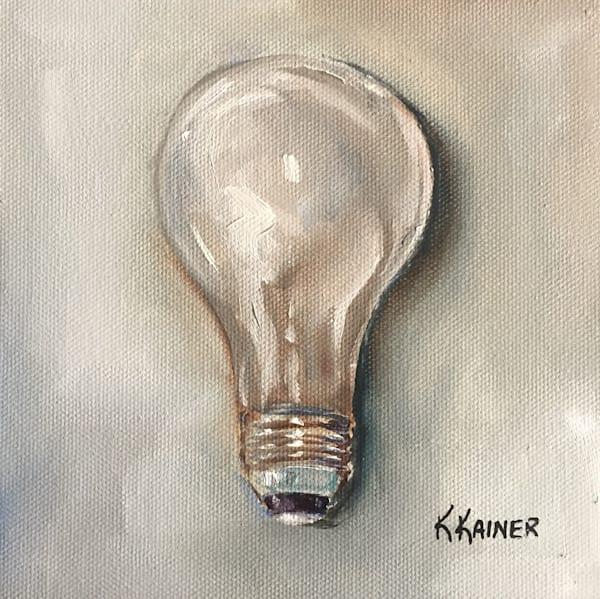 Lightbulb Art   Kristine Kainer