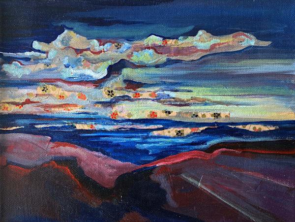 Evolving Landscape No.2 Art   Mina Vancardo