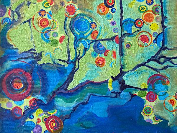 Evolving Landscape No.4 Art   Mina Vancardo
