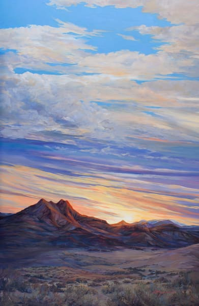 Lindy C Severns Art | Etched by Ten Thousand Sunsets, print