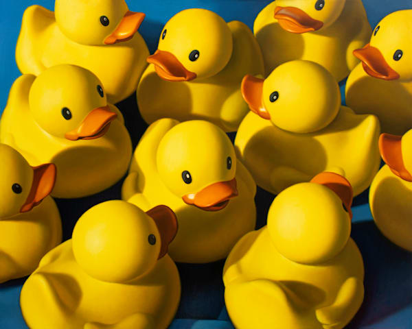 """""""Clusterduck"""" is a fun, decorative image by Kevin Grass."""