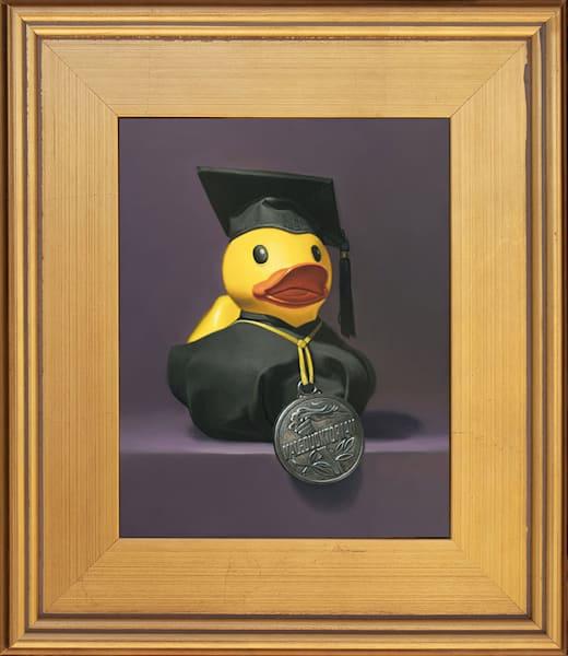 """Valeducktorian"" is fun painting about graduation"