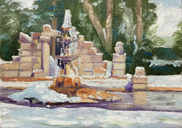 Snow on The Ruins