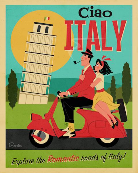 Ciao Italy Print