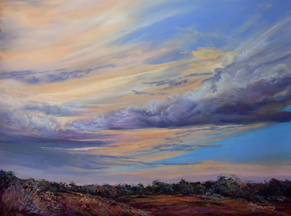 Lindy Cook Severns Art | The Sky's Autumn Symphony, print