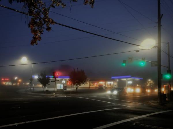 Dawn Gas Art | Patrick Cosgrove Art and Photography