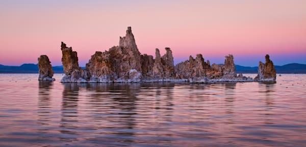 Tufa Sunset Photography Art | Leiken Photography