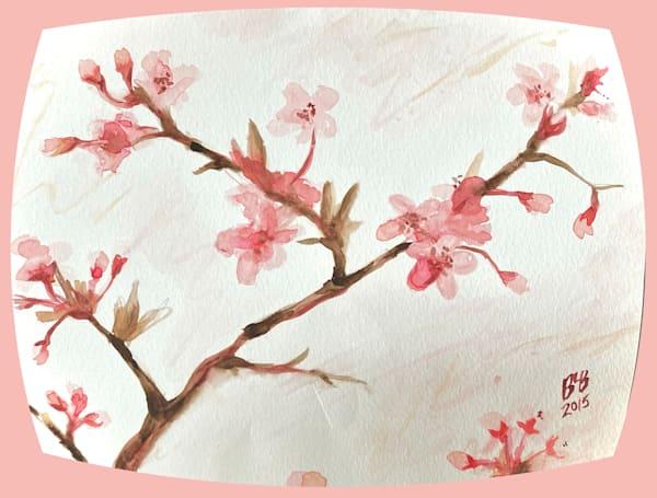 Cherry Blossoms Watercolor Painting Class | Blissful Bonita Art Studio & Gallery