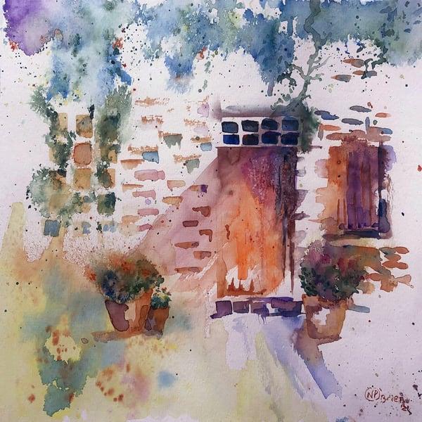 If Doors Could Talk Art   Color Splash Ranch