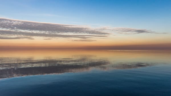 Clouds Reflected Photography Art   Ted Glasoe, Artist