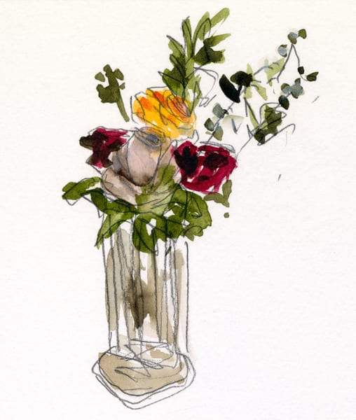 Bouquet De St Valentin Art   i Ghibu - Art