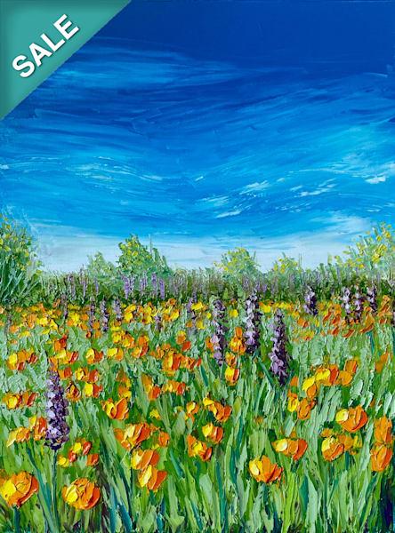 Vivid Afternoon   Original Oil Painting Art | Tessa Nicole Art