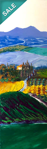 View From Utopia   Original Oil Painting Art | Tessa Nicole Art