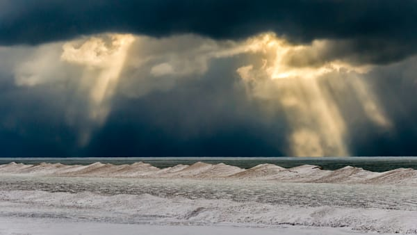 Sunlight And Snow Photography Art | Ted Glasoe, Artist