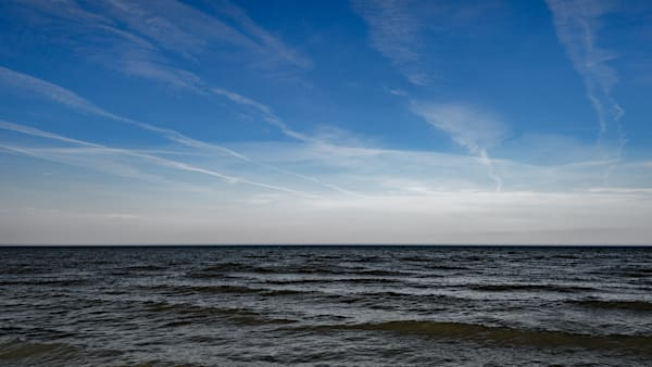 Cirrus Clouds And Horizon Photography Art | Ted Glasoe, Artist