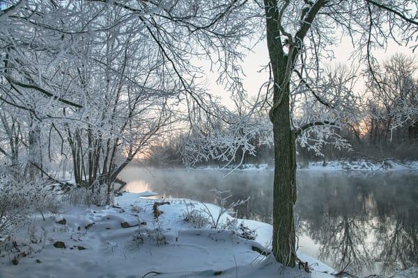 So White   Spring River 3242 Art | Koral Martin Fine Art Photography