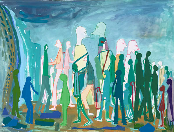 Thundershower (2018) Art | Caley O'Dwyer Fine Art