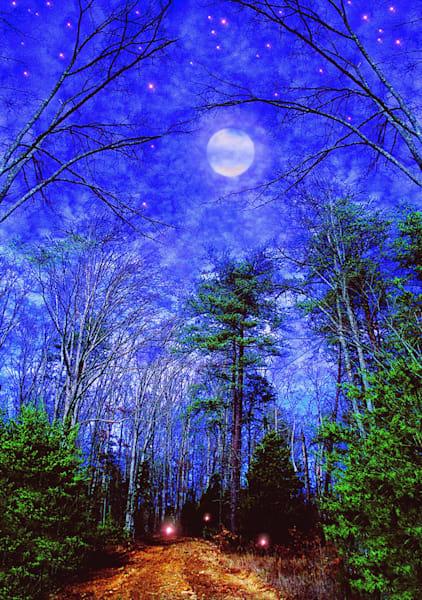 Moonlit Path Art | Cincy Artwork