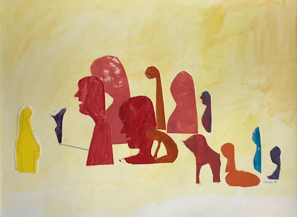 A Good Talking To (2018) Art | Caley O'Dwyer Fine Art