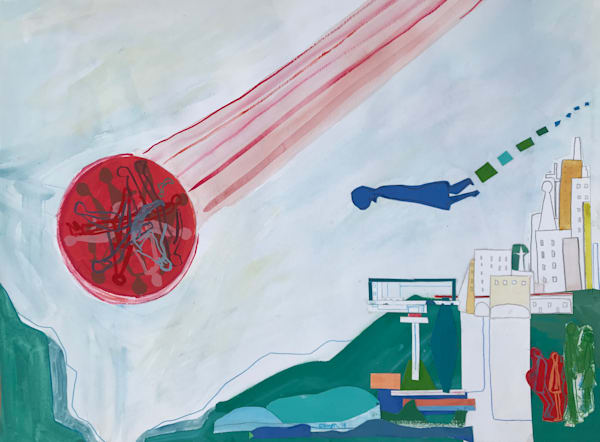 Flyover (2018) Art | Caley O'Dwyer Fine Art