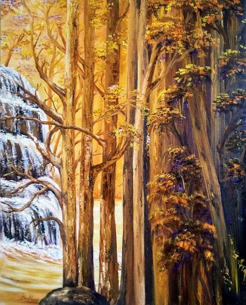 Cascadas Del Tolima Art | artecolombianobyberenice