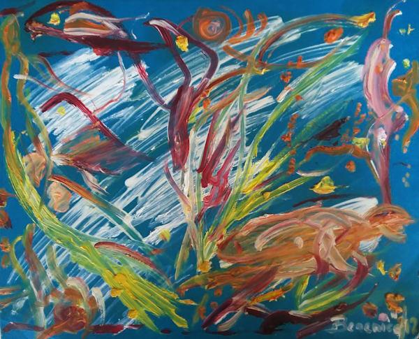 The Deep Ocean Art | artecolombianobyberenice