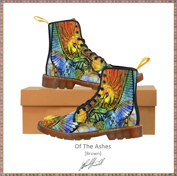 Of The Ashes Unisex Boots