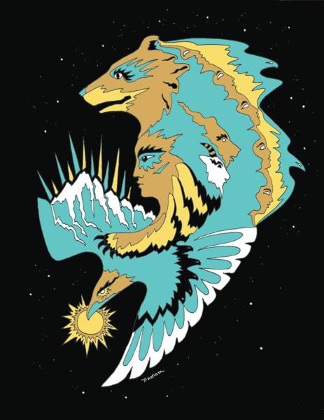 Great Bear Raven Art | treshamgregg - spiritart