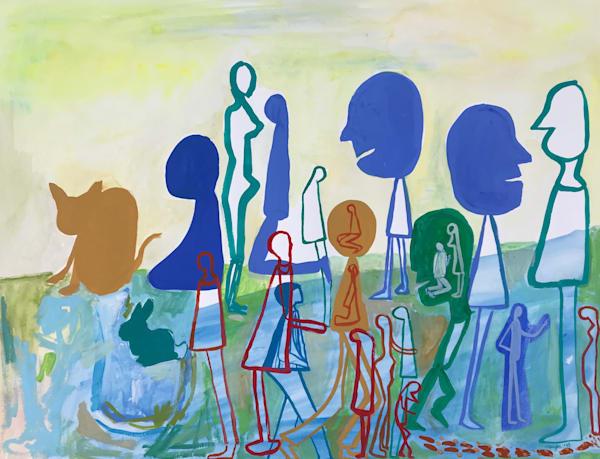 Dutch Uncles (2018) Art | Caley O'Dwyer Fine Art