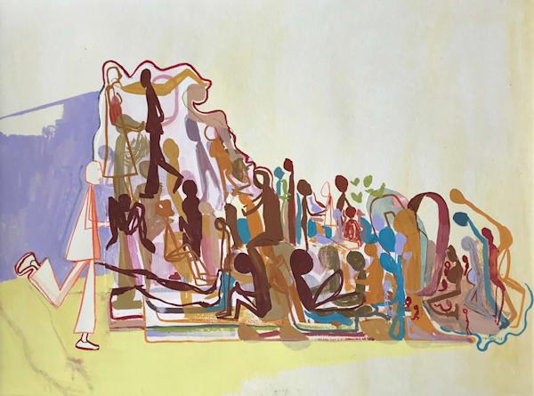En Masse (2018) Art | Caley O'Dwyer Fine Art
