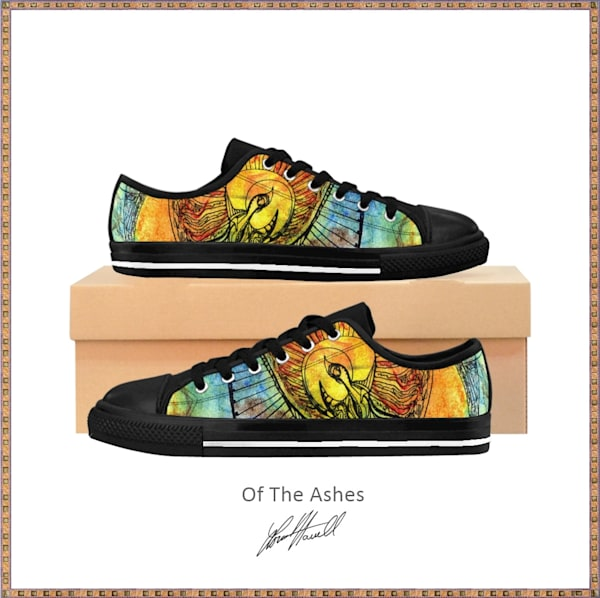 Of The Ashes Sneakers   Loree Harrell Art