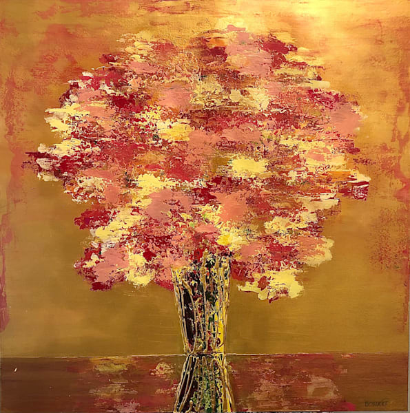 Gold In Bloom Art   benbonart