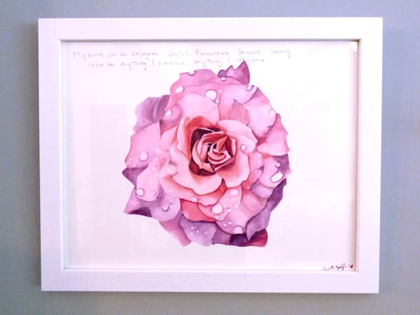 Sensual Birth | Original Watercolor