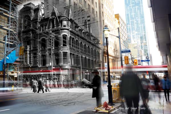 Past Present - CPR Building