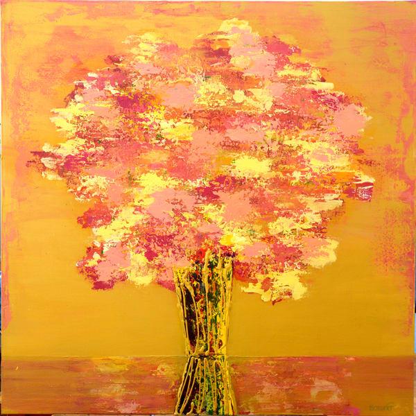 Golden Bloom  Art   benbonart