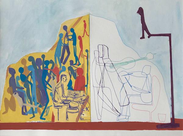 Score (2018) Art | Caley O'Dwyer Fine Art