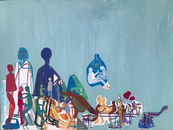 The Togetherers (2018) Art | Caley O'Dwyer Fine Art