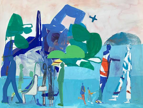 Tropical Holdup (2018) Art | Caley O'Dwyer Fine Art