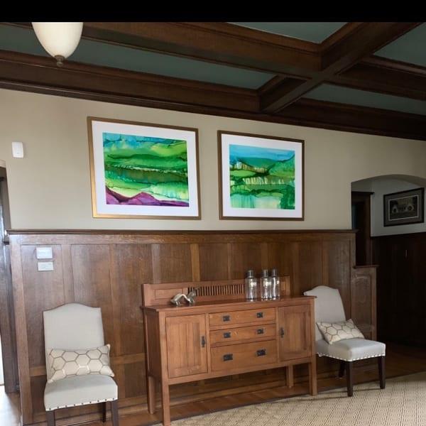 Square Of 2 Commissions Art | Sandy Smith Gerding Artwork